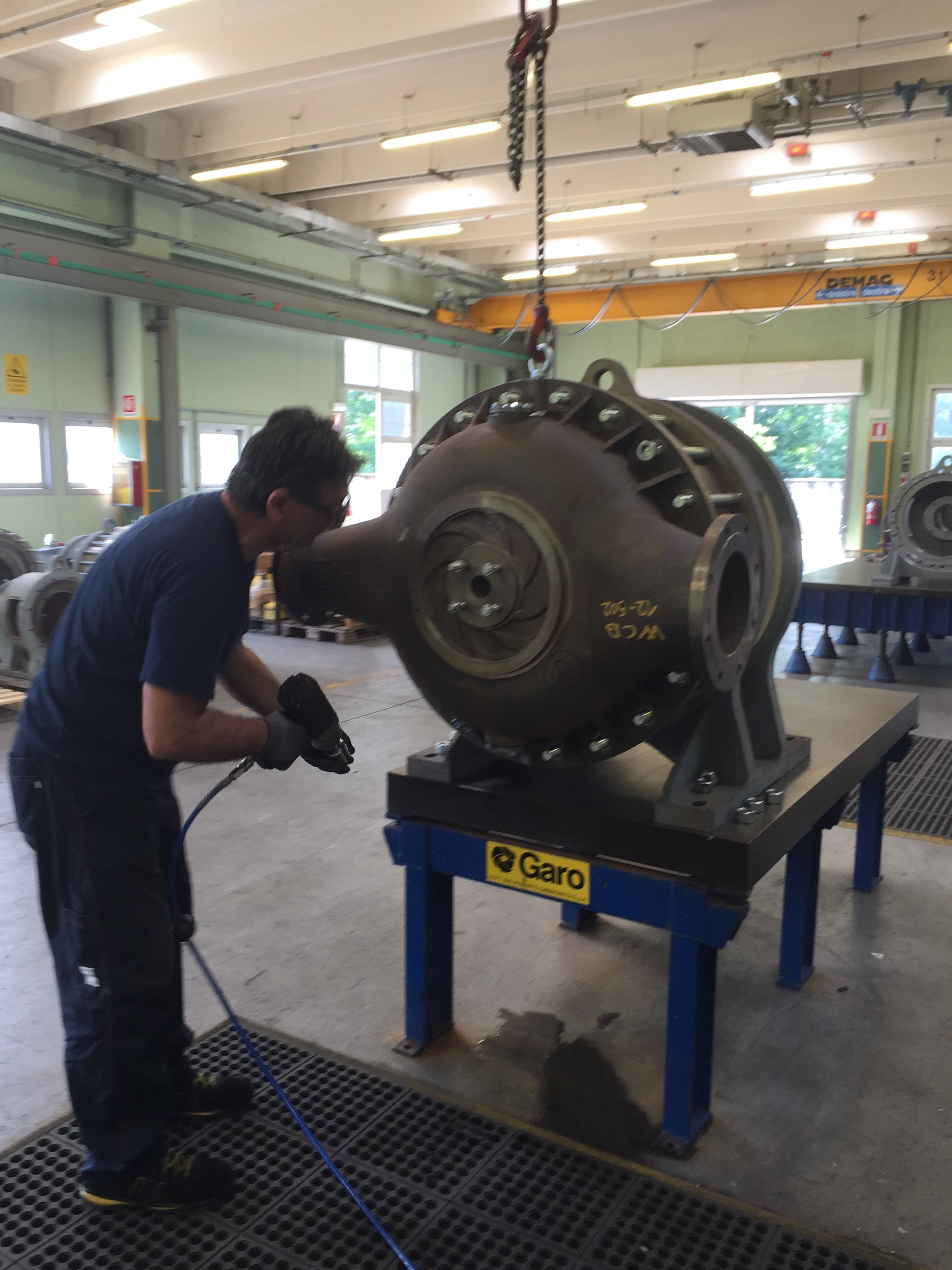 Liquid RIng Compressor Training 2